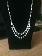 CHARTER CLUB RHINESTONE NECKLACE/BRAND NEW WITH TAG/RETAIL $34.00/110 RHINESTONE