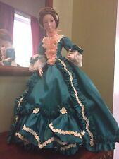 "Franklin Heirloom Mint MARIE ANTOINETTE 18"" Porcelain Doll Madame de Pompadour"
