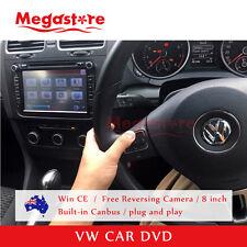 "8"" Volkswagen CAR DVD Player GPS Radio PASSAT GOLF JETTA TIGUAN POLO"