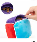 Treat Dispensing Dog Toys Food Puzzle - Cute Interactive Designed Snuffle Cube