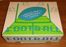 NFL Football Cards. 1000 cards Collectors Treasure Chest!