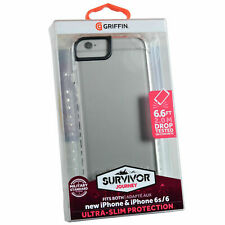 New Genuine Griffin Survivor Journey Rugged Clear Case Cover For iPhone 8/7/6/6s