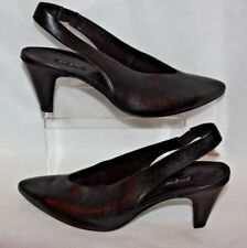 Paul Green Sienna Heel Black Leather Women's 10.5