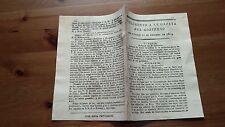 Suplemento a la Gazeta del Gobierno 10 Febrero 1809, Cervera Gerona Haiti Havana