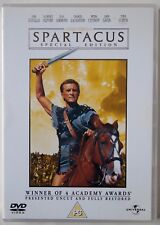 SPARTACUS / STANLEY KUBRICK / KIRK DOUGLAS / 2 DISC SPECIAL EDITION / UNCUT R2