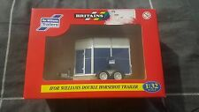 Ifor Williams double horsebox trailer - 1:32 scale model