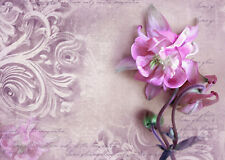 BEAUTIFUL SHABBY CHIC CANVAS PICTURE #42 STUNNING FLORAL HOME DECOR A1 CANVAS