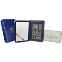 1993 US Mint PRESTIGE Proof Set Commemorative coin Bill Of Rights OGP Box & COA