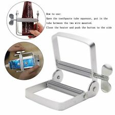 Aluminum Toothpaste Dispenser Tool Tube Squeezer Easy Bathroom Home