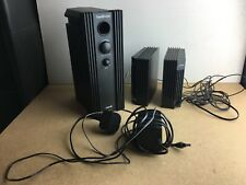 LOGIC 3 SOUNDSTATION 2 Speakers and Sub PS One / PS2 / PC Compatible - B74