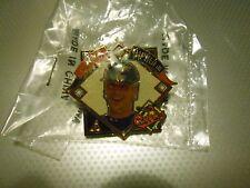 Cal Ripken Jr. 1995 Pinnacle Pin Redeemed Hat Pin New In Package FREE SHIPPING