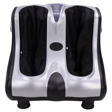 Electric Foot Massager Heat Kneading Rolling Leg Ankle  Home Salon Pain Relief