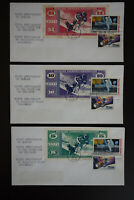 US MPC Currency Space Anniversary Stamp Cover Set of 8