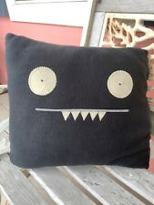 UGLY DOLL Black Square Pillow