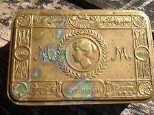 Queen Mary Christmas WW1 Christmas 1914 Tobacco Imperium Britannicum Tin