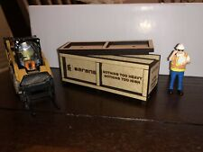 1/50 Custom Sarens Wooden Crate For Cranes And Trucks