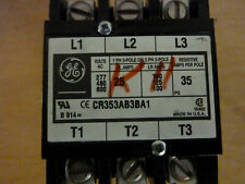 General Electric Cr353Ab3Ba1 3p 25a 120v Coil Magnetic Contactor