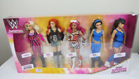 WWE Superstars Fashion Dolls Collection 5 Pack Natalya Becky Sasha Brie Nikki