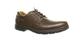Clarks Mens Rockie Lo Gtx Brown Oxford Dress Shoe Size 14 (1455499)