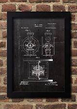Kaffee Mühle Coffee Mill 1875 Patent Fine Art-Print Galeriequalität A4. 01