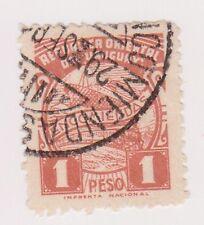 (UGA-175) 1938 Uruguay 1p brown post parcel (Y)
