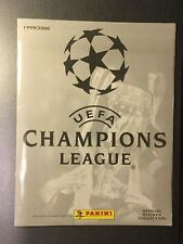 UEFA Champions League 1999/2000 Leeralbum Panini
