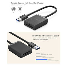 Adaptateur Lecteur de Carte Mémoire USB 3.0 Multi SD SDHC SDHC micro SD TF 5Gbps