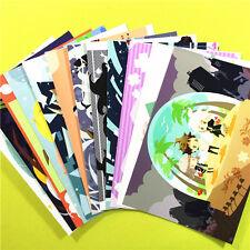 Danganronpa Hinata Hajime Enoshima Junko Postcard Post Photo Card Decal 12pcs