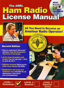 The ARRL Ham Radio License Manual by Silver, Ward Book The Fast Free Shipping