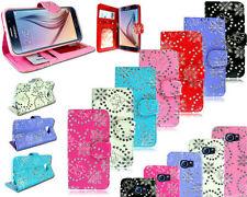 Étuis, housses et coques etuis portefeuilles violet Pour Samsung Galaxy S6 pour téléphone mobile et assistant personnel (PDA)