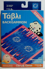 OLYMPICS ATHENS 2004 BACKGAMMON TRAVEL BOARD GAME UNUSED MIP RARE
