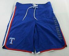 Texas Rangers MLB Men's Blue Swimming Shorts