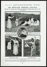 Clara Novello Davies Royal Welsh Ladies Choir Biggin Hill 1915 Photo Article