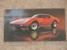 1977 Corvette Coupe, unused