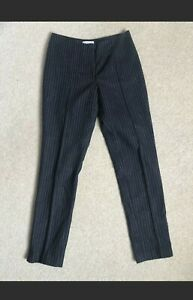 H&M Wool Pinstripe Trousers Ankle Size 6-8 Eur34