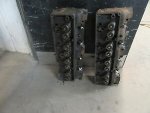 1955 PACKARD CYLINDER HEAD PAIR CORE 440689 V8