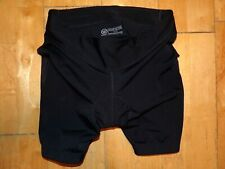 Canari Womens Bicycle Biking Cycling Bike Spin Medium M Md Padded Shorts Black