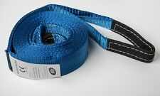 """3"""" 20000lbs BLUE 9T 3x20 ft car Pull SUV Truck Tow Strap rope winch OffRoad Snow"""