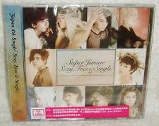 Super Junior Sexy, Free & Single Taiwan CD+DVD -Normal Edition-