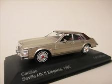 1 43 White Box Cadillac Seville MK II elegante 1980 Gold/brown