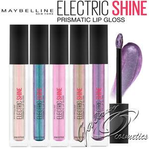 Maybelline Electric Shine Prismatic Lip Gloss Iridescent shine