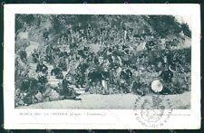 Militari 74º Reggimento Fanteria Banda Musica Brigata Lombardia cartolina XF5385
