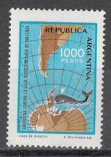 Argentinien Nr. 1528** Schutz der Wale