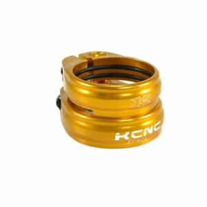 KCNC SC13 Twin Seat Post Clamp Seat Tube:34.9mm/Seat Post:30.9mm , Gold