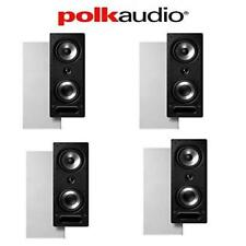 Polk Audio 265-RT 3-Way In-Wall Loudspeakers (4 Speakers)