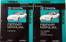 1994 Toyota Celica Factory Service Manual Set Original Shop Repair Books