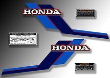 ATC 110 1984 tank Stickers Honda Trike Decals