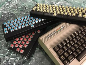 Mechboard 64 mechanical replacement keyboard for the Commodore 64