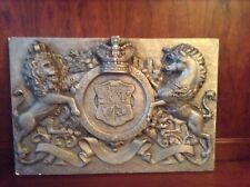 RARE English Signed 1936 Ceramic Wall Plaque