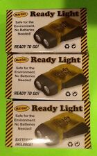 Lot of 3 Mayday Ready Lights No Batteries Needed Emergency Survival Prepper BOB